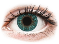 Alensa.co.uk - Contact lenses - Turquoise contact lenses - power - TopVue Color
