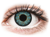 Alensa.co.uk - Contact lenses - Blue Aqua Glamour contact lenses - power - ColourVue