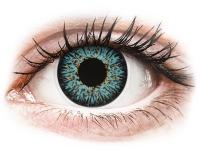 Alensa.co.uk - Contact lenses - Blue Aqua Glamour contact lenses - ColourVue