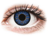 Alensa.co.uk - Contact lenses - Blue Glamour contact lenses - ColourVue