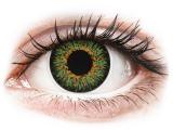 Alensa.co.uk - Contact lenses - Green Glamour contact lenses - ColourVue