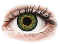 Alensa.co.uk - Contact lenses - Green Glamour contact lenses - ColourVue
