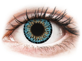 Blue Aqua Elegance contact lenses - ColourVue (2 coloured lenses)