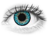 Blue Elegance contact lenses - ColourVue (2 coloured lenses)