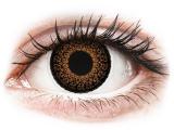 Alensa.co.uk - Contact lenses - Brown Eyelush contact lenses - ColourVue