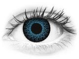 Blue Eyelush contact lenses - power - ColourVue (2 coloured lenses)