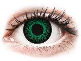 Alensa.co.uk - Contact lenses - Green Eyelush contact lenses - power - ColourVue