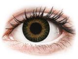 Alensa.co.uk - Contact lenses - Green 3 Tones contact lenses - power - ColourVue