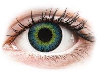 Alensa.co.uk - Contact lenses - Yellow Blue Fusion contact lenses - ColourVue
