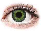 Alensa.co.uk - Contact lenses - Green Yellow Fusion contact lenses - ColourVue