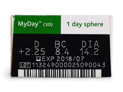 MyDay daily disposable (30lenses)