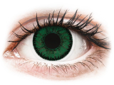 Blue Aquamarine contact lenses - SofLens Natural Colors (2 monthly coloured lenses)