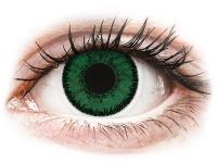 Alensa.co.uk - Contact lenses - Green Emerald contact lenses - SofLens Natural Colors