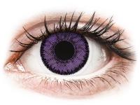Alensa.co.uk - Contact lenses - Purple Indigo contact lenses - SofLens Natural Colors