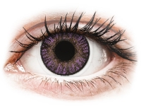 Alensa.co.uk - Contact lenses - Purple Amethyst contact lenses - FreshLook ColorBlends - Power