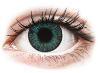 Brilliant Blue contact lenses - FreshLook ColorBlends (2 monthly coloured lenses)