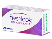 Brown contact lenses - FreshLook ColorBlends (2 monthly coloured lenses)