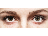 Grey contact lenses - FreshLook ColorBlends - Power (2 monthly coloured lenses)