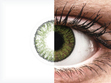 Green contact lenses - FreshLook ColorBlends - Power (2 monthly coloured lenses)
