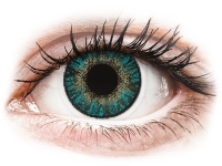 Alensa.co.uk - Contact lenses - Turquoise contact lenses - FreshLook ColorBlends - Power