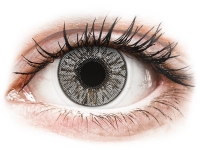 Alensa.co.uk - Contact lenses - Misty Gray contact lenses - FreshLook Colors - Power