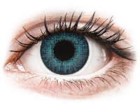 Alensa.co.uk - Contact lenses - Brilliant Blue contact lenses - natural effect - Air Optix