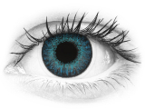 Brilliant Blue contact lenses - natural effect - Air Optix (2 monthly coloured lenses)