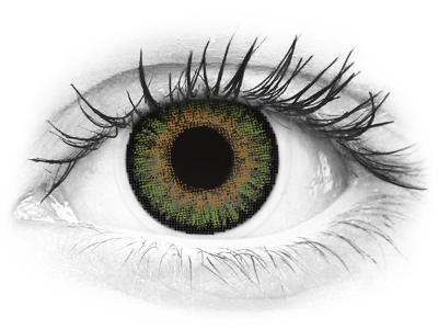 Green contact lenses - FreshLook One Day Color - Power (10 daily coloured lenses)