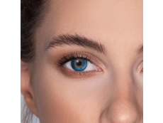 Pacific Blue contact lenses - FreshLook Dimensions - Power (6 monthly coloured lenses)