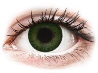 Alensa.co.uk - Contact lenses - Sea Green contact lenses - FreshLook Dimensions - Power