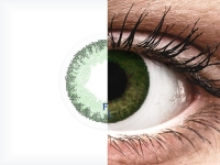 Sea Green contact lenses - FreshLook Dimensions - Power (6 monthly coloured lenses)