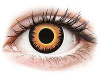 Alensa.co.uk - Contact lenses - Orange Werewolf contact lenses - ColourVue Crazy