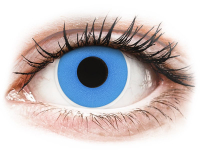 Alensa.co.uk - Contact lenses - Sky Blue contact lenses - ColourVue Crazy