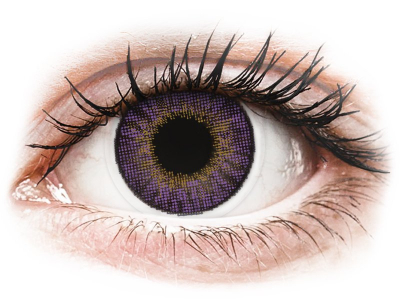 Air Optix Colors - Amethyst - plano (2 lenses)