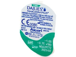 Dailies AquaComfort Plus Toric (90lenses)