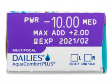 Dailies AquaComfort Plus Multifocal (30 lenses)