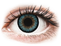 Alensa.co.uk - Contact lenses - Blue Aqua 3 Tones contact lenses - ColourVue