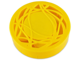 Alensa.co.uk - Contact lenses - Lens Case with mirror - yellow ornament