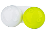 Alensa.co.uk - Contact lenses - Lens Case 3D - yellow