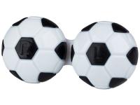 Lens Case Football - black