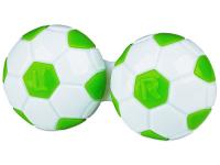 Lens Case Football - green
