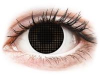 Alensa.co.uk - Contact lenses - ColourVUE Crazy Lens - Black Screen - plano
