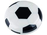 Alensa.co.uk - Contact lenses - Lens Case with mirror Football - black