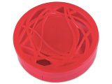 Alensa.co.uk - Contact lenses - Lens Case with mirror - red ornament