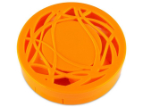 Alensa.co.uk - Contact lenses - Lens Case with mirror- orange ornament