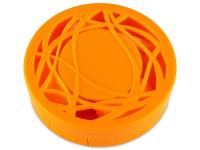 Lens Case with mirror- orange ornament