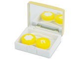 Alensa.co.uk - Contact lenses - Lens Case with mirror Elegant  - gold