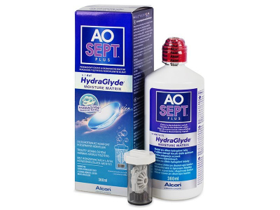 AO SEPT PLUS HydraGlyde Solution 360 ml