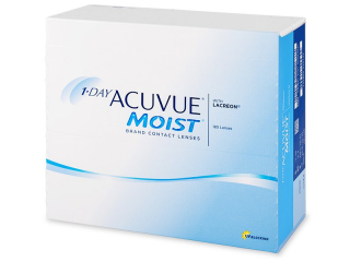 1 Day Acuvue Moist (180 lenses) - Johnson and Johnson
