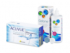 Acuvue Oasys for Astigmatism (12 lenses) + Gelone Solution 360 ml